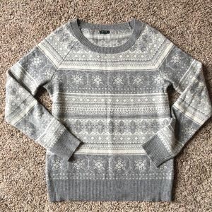 Euc delicate fair isle Jcrew sweater